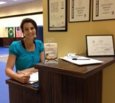 Owner and Office Manager Caroline Rodrigues